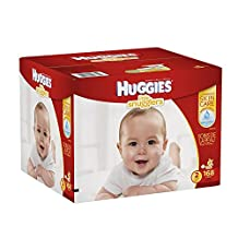 Huggies Little Snugglers Diapers Economy Plus, Size 2 (168CT)