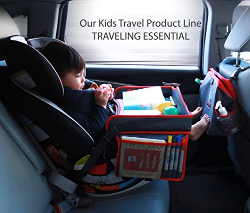 Toddler Car Seat Travel Tray Kids With Erasable Surface