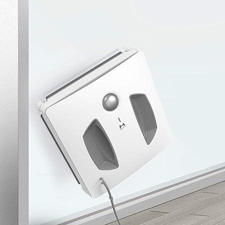 Kinen Domestico Eléctrica del Robot Limpiador de Ventanas for el hogar Limpieza de Cristales Auto Lavadora Aspirador rápida Segura Inteligente de Planificación wqfgebr (Color : White): Amazon.es: Hogar
