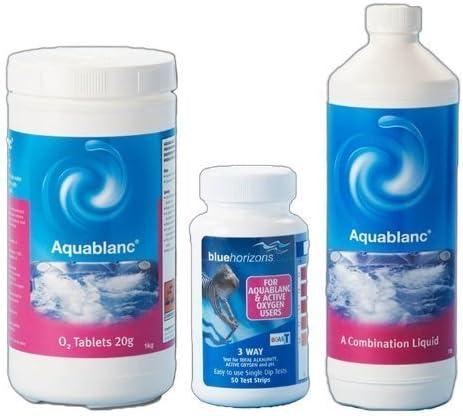 Happy Hot glue Aquablanc 1 kg O2 Tablets 1ltr combinación Liquid ...