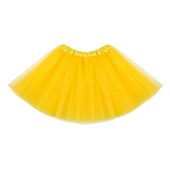 hibote Vestido de tono de danza de ballet de la falda de tutú de las muchachas