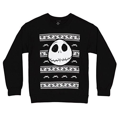 Nightmare Before Christmas Spider & Skulls Crewneck
