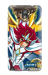 Albert R. McDonough's Shop 6172587K86595467 For Galaxy Protective Case, High Quality For Galaxy Note 3 Sagitarius And Pegasus, Saint Seiya Omega Skin Case Cover