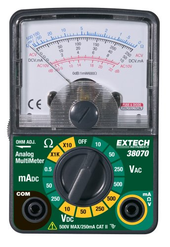 Extech 38070 Compact Analog MultiMeter (Discontinued by the Manufacturer)