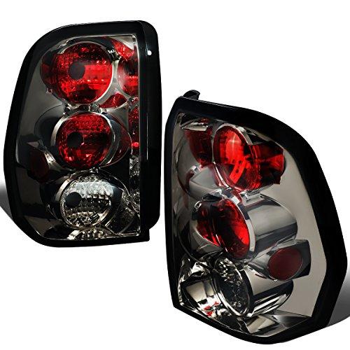 For 2002-2009 Chevy Trailblazer Pair Smoked Lens Altezza Style Tail Light Brake ()