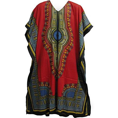 moroccan print dress - 6