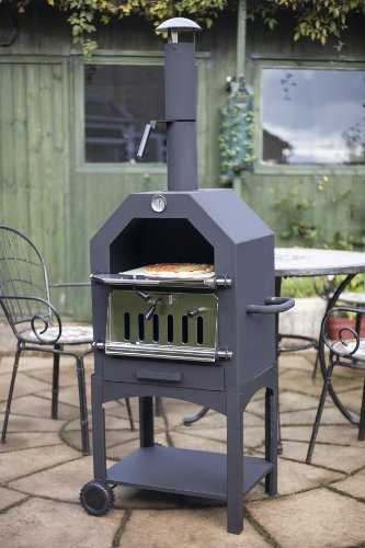 La-Hacienda-56107US-Steel-Construction-Pizza-Oven-and-Smoker