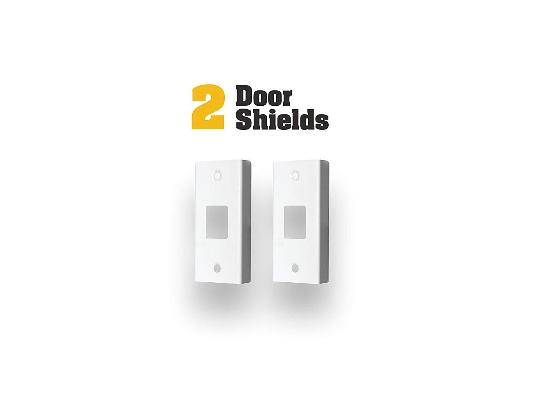 Door Armor MAX – Complete Door Reinforcement Set For Jamb, Frame, Strike Plate — DIY Home Door Security – White by Armor Concepts (Image #5)
