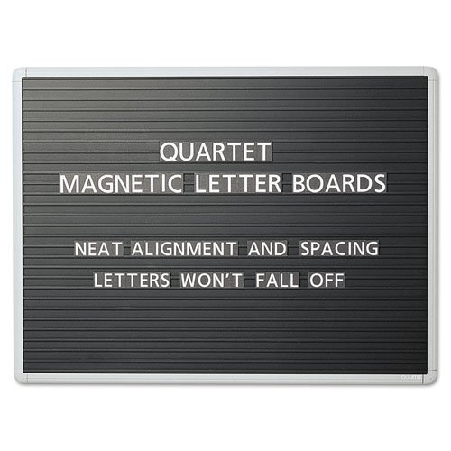 QRT903M - Quartet Magnetic Letter Board Sign by Quartet