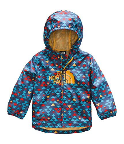 The North Face Infant Novelty Flurry Wind Jacket, Shady Blue Mini Aztec Print, 24M ()