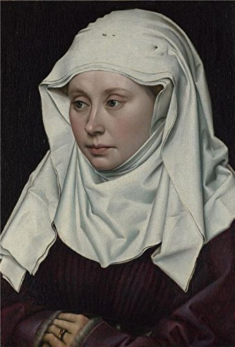 Costumes Hill Silent Female (Oil Painting 'Robert Campin-A Woman,about 1435' Printing On Perfect Effect Canvas , 20x29 Inch / 51x75 Cm ,the Best Gym Decor And Home Gallery Art And Gifts Is This Imitations)