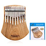 GECKO 17 Keys Kalimba Thumb Piano, Solid
