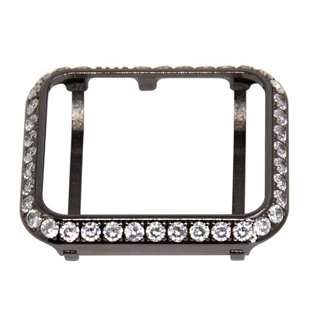 YALTOL for Iwatch/Apple Watch Series 4/3/2/1 Protection Frame with Rhinestone Diamond Metal Case Bezel,40mm,44mm,38mm,42mm,38mm