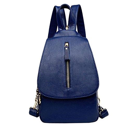 Laidaye Spalla Ladies Di Delle Blu Il Antifurto Borsa Fashion Uso Per Doppio Multifunzionale Quotidiana Bag Sacchetto Signore Libero Tempo rg8xrwSf