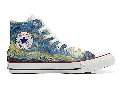 Converse All Star Customized - zapatos personalizados (Producto Artesano) Van Gogh 2