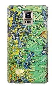 S0210 Van Gogh Irises Case Cover For Samsung Galaxy Note 4 Kimberly Kurzendoerfer