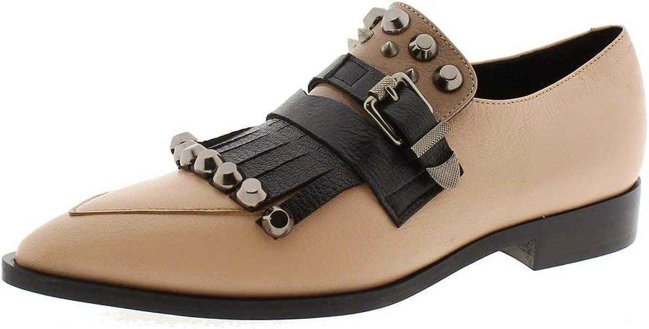 Zapatos Mujer Mocasines Naúticos Jeannot 74384 Negro/Nude 39 ...