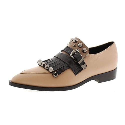 Zapatos Mujer Mocasines Naúticos Jeannot 74384 Negro/Nude 39: Amazon.es: Zapatos y complementos