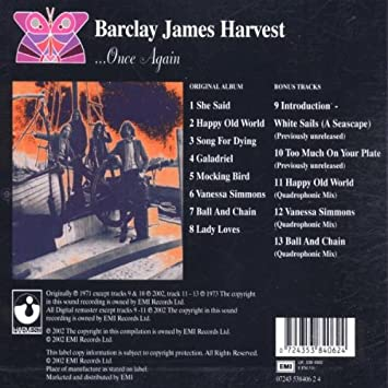 Image result for barclay james harvest once again