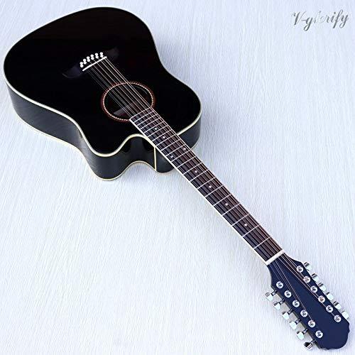 Guitarra eléctrica acústica de 41 pulgadas, 12 cuerdas, con ...