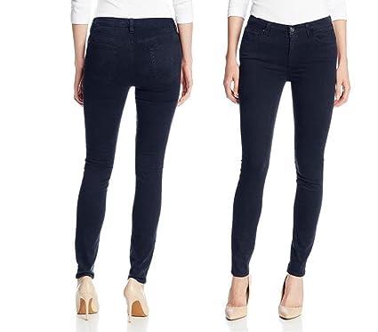 cf58b725bd25 JEANS FOR LOVE Women's Juniors Dark Blue Soft Twill Denim Jeans ...