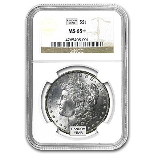 1878-1904 Morgan Dollars MS-65+ NGC $1 MS-65 NGC
