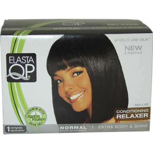 Elasta QP No Lye Conditioning Relaxer Kit, Normal, 1 Application, 7 Count ()