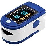 Soberbarmx Dedo Oxímetro de Pulso Medidor de saturación de oxígeno en Sangre Monitor Spo2