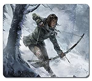 VUTTOO - Lara Croft Rise Of The Tomb Raider 31027 High Quality Large Mousepad Durable Mouse pad Non-Slippery Rubber Gaming Mouse Pads by Maris's Diaryby Maris's Diary