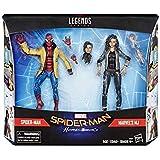 スパイダーマン / ホームカミング ハズブロ マーベルレジェンド ターゲット限定 6インチ アクションフィギュア 2パック スパイダーマン & MJ / SPIDER-MAN HOMECOMING 2019 MARVEL LEGENDS TARGET EXCLUSIVE 6inch 2PACK PETER PARKER & MARY JANE 映画 最新 マーベル MCU レジェンズ ML ファー・フロム・ホーム ピーター メリー・ジェーン [並行輸入品]