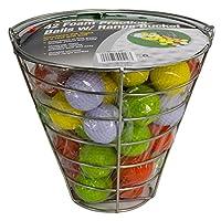 Bolas de práctica de espuma Jef World of Golf (42 bolas multicolores)