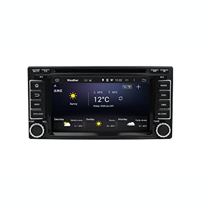 kunfine Octa Core Android 6.0 coche reproductor de DVD GPS navegación Multimedia estéreo para Subaru Forester/Impreza 2008 2009 2010 2011 Autoradio control ...