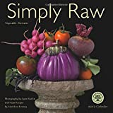 img - for Simply Raw 2017 Wall Calendar: Vegetable Portraits and Raw Food Recipes book / textbook / text book
