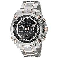 Bulova Men's 98B256 Precisionist Analog Quartz Two Tone Stainless Steel Watch