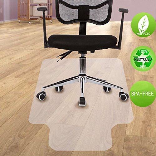 SHAREWIN Chair Mat for Hard Wood Floors - 36''x47'' Heavy Duty Floor Protector - Easy Clean  by SHAREWIN (Image #6)