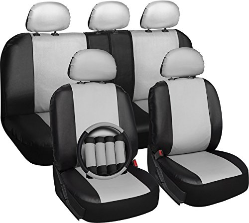 black and white bucket seats - 6