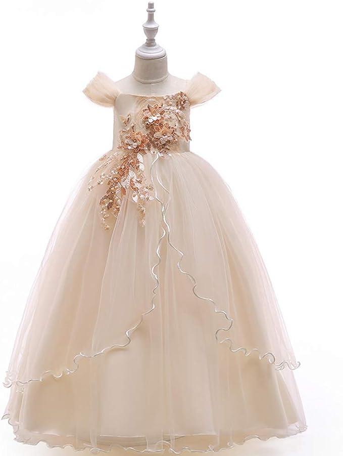 LADYLUCK Vestido Fiesta Niña Vestido De Princesa Niña para Fiestas ...