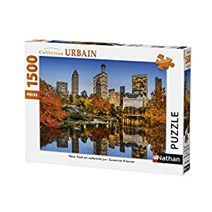 Nathan Puzzle New York In Autunno 1500 Pezzi 87788