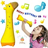 Macoku Kid Karaoke Microphone Magic Voice Wireless Bluetooth Speaker Toy Gift Develop Intelligence Story Machine