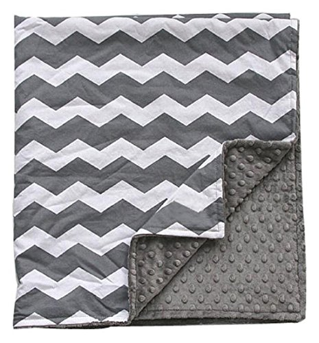Mikey Store Super Soft and Multi Uses Newborn Cartoon Cashmere Blanket Plush Cotton Flannel (Gray)