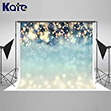 Kate 7×5ft Christmas Photography Backdrop Bokeh Dots Xmas Background Cotton Photo Studio Booth for Happy New Year Winter Backdrop for Photography