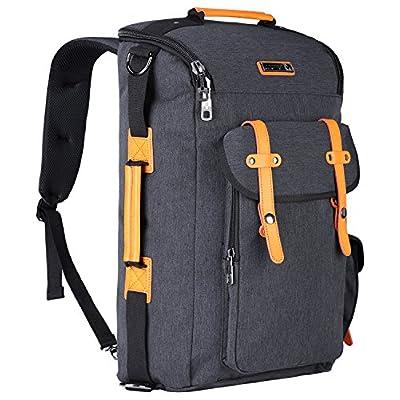 dfb6af575789 good WITZMAN Water Resistant Travel Duffel Backpack Outdoor Hiking Rucksack  6686