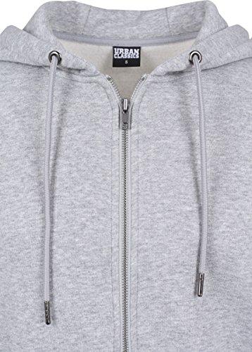 Grau Zip 111 Urban nbsp;capuche À Hoody Sweat grey Homme Classics Basic g8nwxqCBR