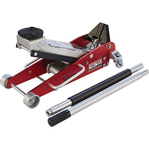 Strongway Hydraulic Aluminum/Steel Quick Lift Service Jack - 2 1/2-Ton Capacity, 3 15/16in.-18 1/8in. Lifting Range by Strongway (Image #5)