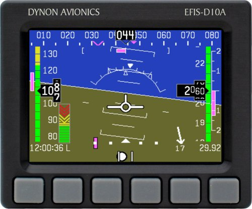 "Dynon D10a Efis 4"" Screen W/O Back Up Battery"