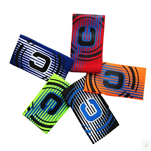 Multicolor Professional Sports Soccer Gaelic Football Captains arm Band Football Club Competition Match Game Games Player Armband Wristbands Adjustable