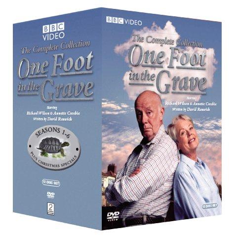 DVD : One Foot in the Grave: Complete Series (Oversize Item Split, Full Frame, Slipsleeve Packaging, 12 Disc)