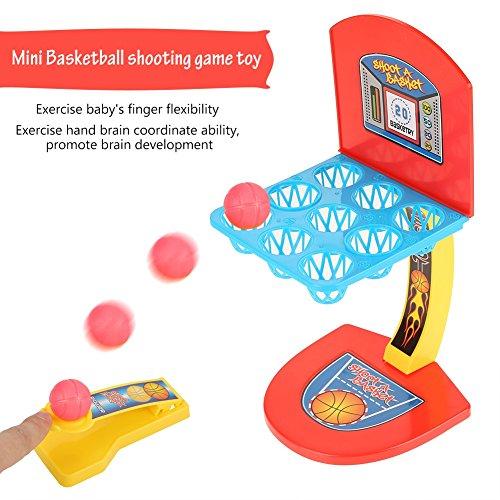 家族 面白い ボードゲーム ミニバスケットボール シュートゲーム フィンガープレイ 子供 おもちゃ 贈り物の商品画像