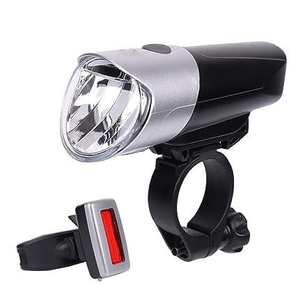Amazon.com: GuoYq Luz de Bicicleta, Faro Cargador USB ...