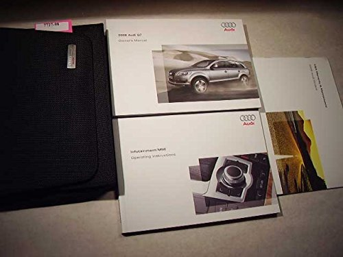 2009 Audi Q7 with infotainment/MMI booklet Owners Manual